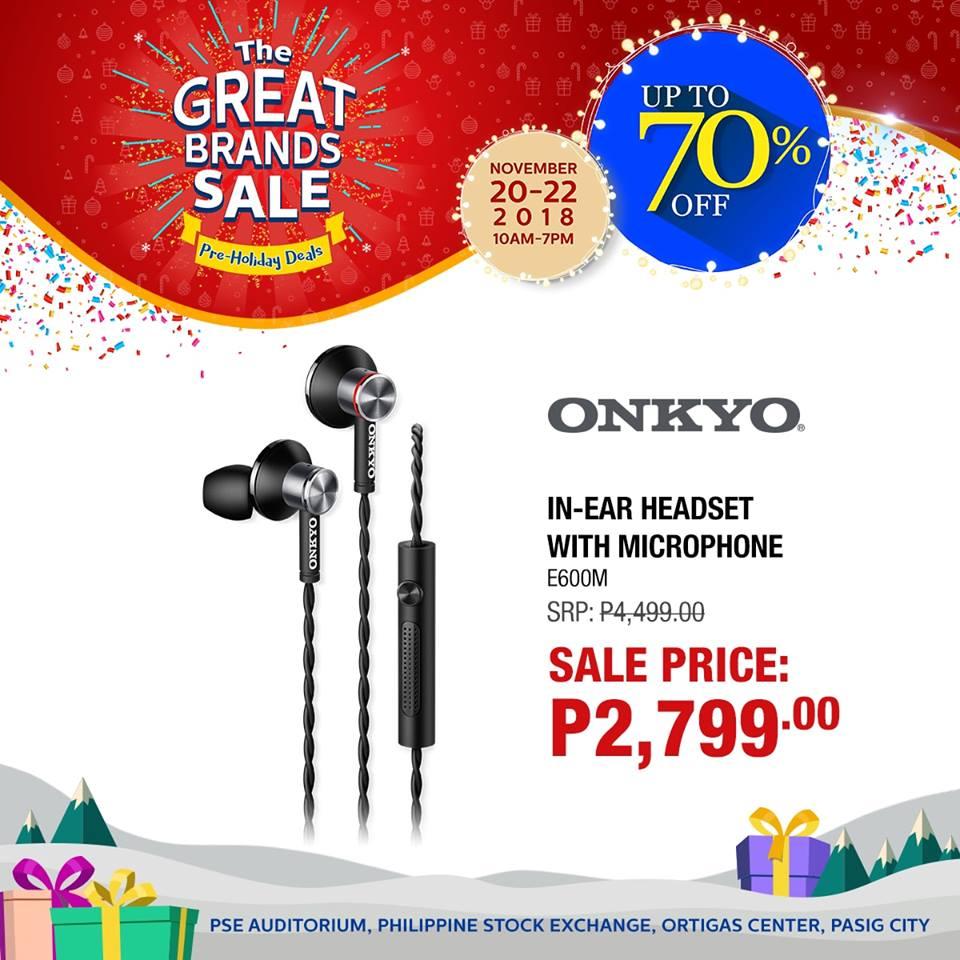 The Great Brands Sale November 2018   Manila On Sale