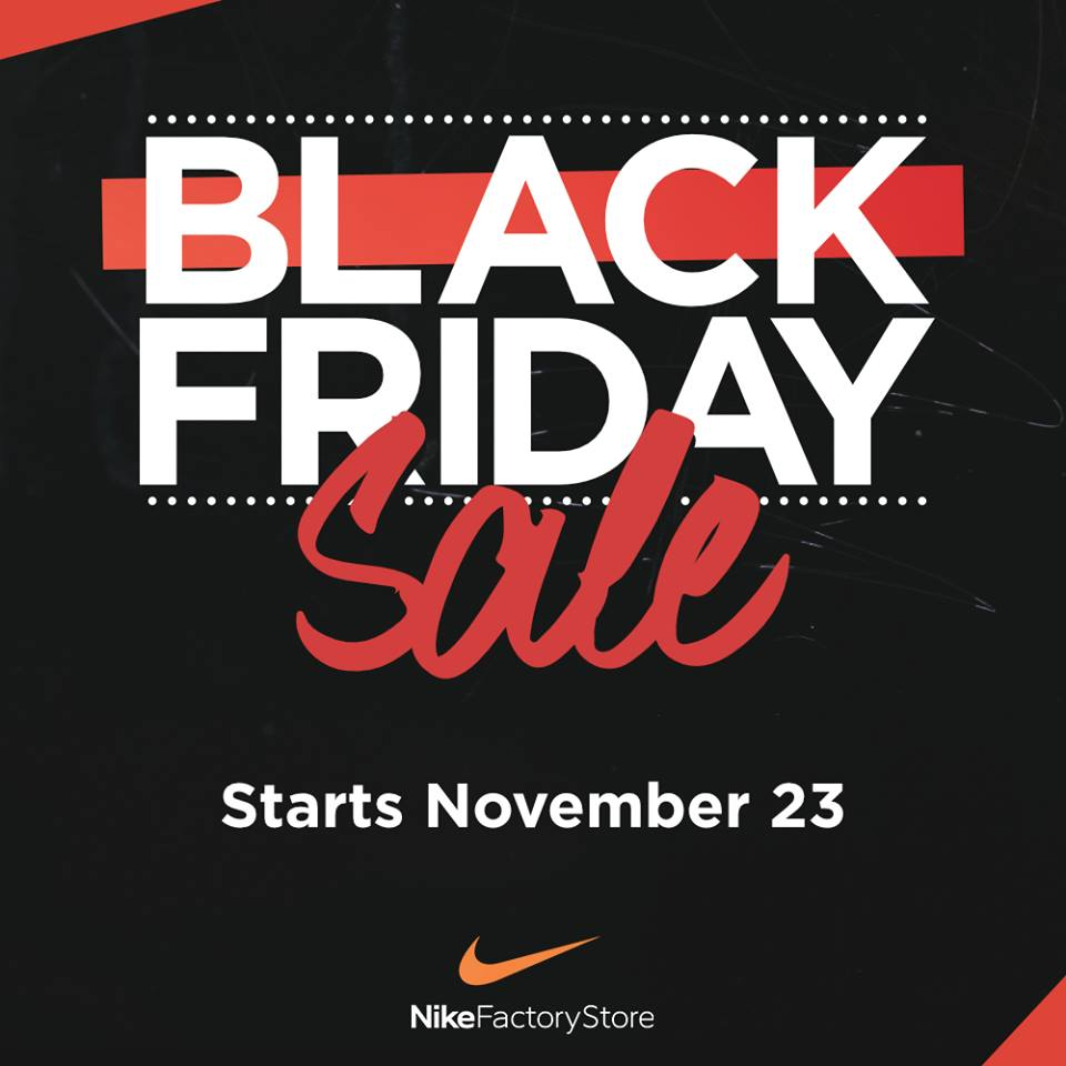 e9334265c843 Nike Factory Store Black Friday Sale 2018