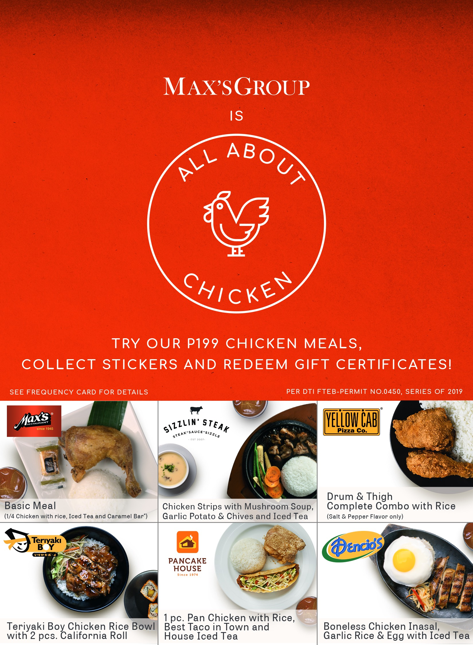 Max's Group All About Chicken Promo 2019   Manila On Sale