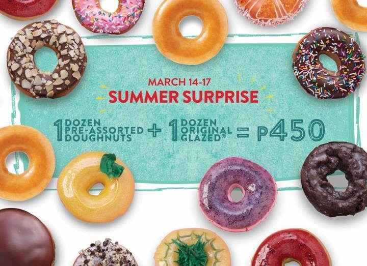 Krispy Kreme Summer Surprise March 2019 | Manila On Sale