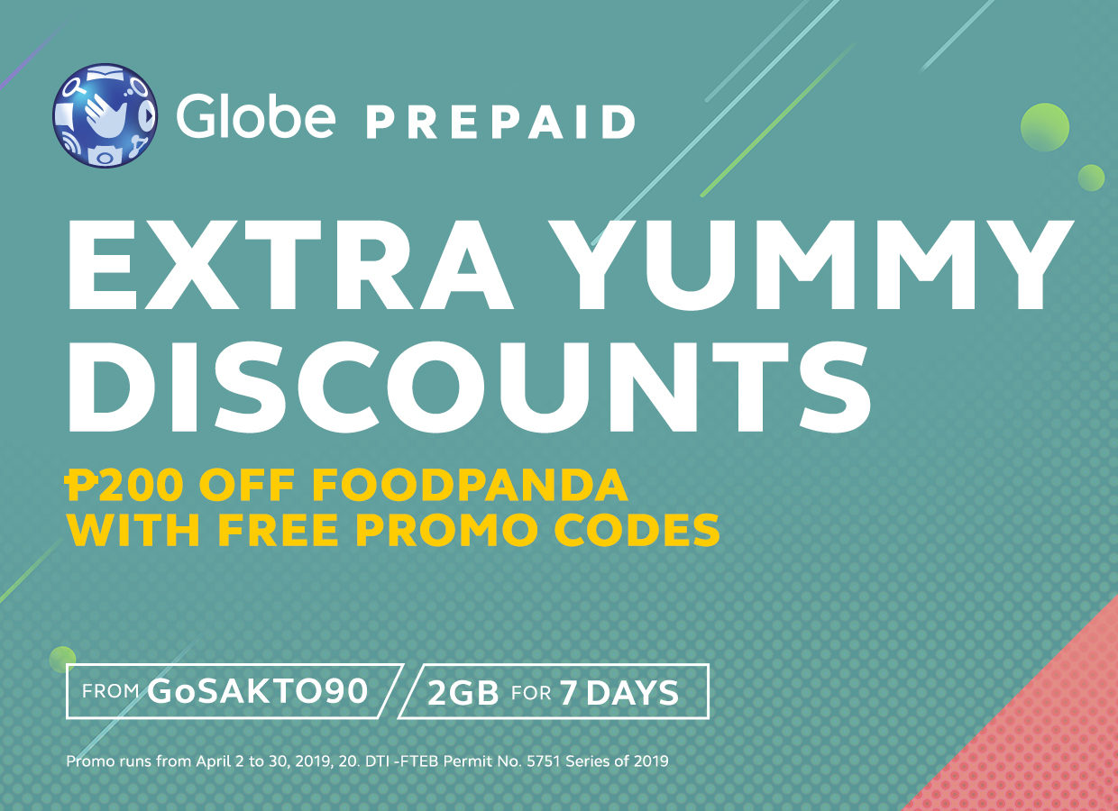 Get FREE promo codes for your favorite apps from Globe